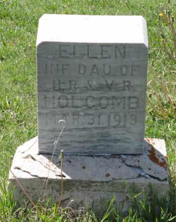 HOLCOMB, ELLEN - Hitchcock County, Nebraska | ELLEN HOLCOMB - Nebraska Gravestone Photos