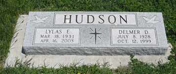 HUDSON, DELMER D. - Hitchcock County, Nebraska | DELMER D. HUDSON - Nebraska Gravestone Photos
