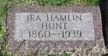 HUNT, IRA HAMLIN - Hitchcock County, Nebraska | IRA HAMLIN HUNT - Nebraska Gravestone Photos