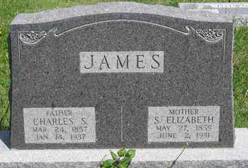 JAMES, S. ELIZABETH - Hitchcock County, Nebraska | S. ELIZABETH JAMES - Nebraska Gravestone Photos