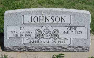 JOHNSON, IDA - Hitchcock County, Nebraska | IDA JOHNSON - Nebraska Gravestone Photos