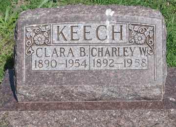 KEECH, CLARA B. - Hitchcock County, Nebraska | CLARA B. KEECH - Nebraska Gravestone Photos
