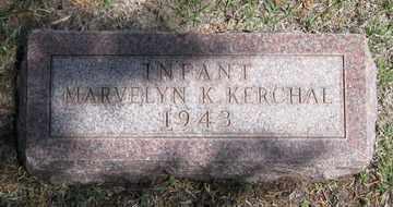 KERCHAL, MARVELYN K. - Hitchcock County, Nebraska | MARVELYN K. KERCHAL - Nebraska Gravestone Photos