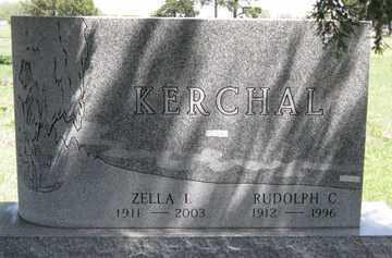 KERCHAL, RUDOLPH C. - Hitchcock County, Nebraska   RUDOLPH C. KERCHAL - Nebraska Gravestone Photos