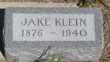 KLEIN, JAKE - Hitchcock County, Nebraska | JAKE KLEIN - Nebraska Gravestone Photos