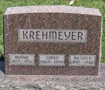 KREHMEYER, SIMON - Hitchcock County, Nebraska   SIMON KREHMEYER - Nebraska Gravestone Photos