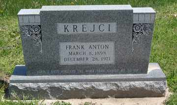 KREJCI, FRANK ANTON - Hitchcock County, Nebraska | FRANK ANTON KREJCI - Nebraska Gravestone Photos