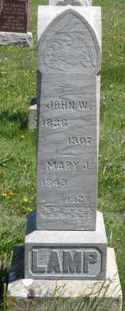 LAMP, MARY J. - Hitchcock County, Nebraska | MARY J. LAMP - Nebraska Gravestone Photos