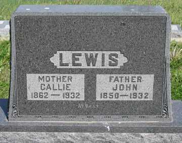 LEWIS, CALLIE - Hitchcock County, Nebraska | CALLIE LEWIS - Nebraska Gravestone Photos