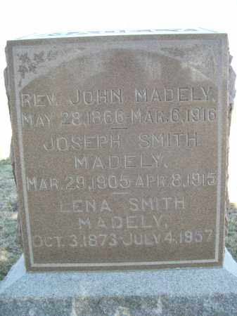 MADELY, JOSEPH SMITH - Hitchcock County, Nebraska | JOSEPH SMITH MADELY - Nebraska Gravestone Photos