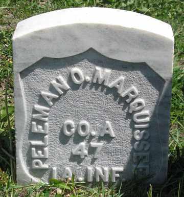 MARQUISSEE, PELEMAN O. - Hitchcock County, Nebraska | PELEMAN O. MARQUISSEE - Nebraska Gravestone Photos