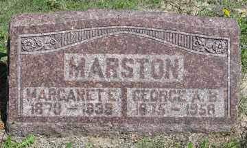 MARSTON, MARGARET E. - Hitchcock County, Nebraska | MARGARET E. MARSTON - Nebraska Gravestone Photos