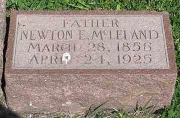 MCLELAND, NEWTON E. - Hitchcock County, Nebraska | NEWTON E. MCLELAND - Nebraska Gravestone Photos