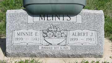 MEINTS, ALBERT J. - Hitchcock County, Nebraska   ALBERT J. MEINTS - Nebraska Gravestone Photos