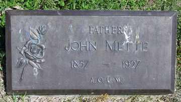 METTE, JOHN - Hitchcock County, Nebraska   JOHN METTE - Nebraska Gravestone Photos
