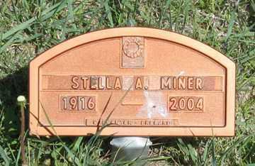 MINER, STELLA A. - Hitchcock County, Nebraska   STELLA A. MINER - Nebraska Gravestone Photos