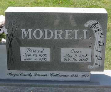 MODRELL, IRENE - Hitchcock County, Nebraska | IRENE MODRELL - Nebraska Gravestone Photos