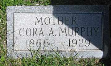 MURPHY, CORA A. - Hitchcock County, Nebraska   CORA A. MURPHY - Nebraska Gravestone Photos