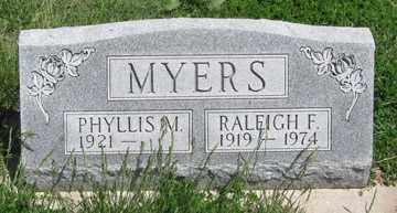 MYERS, RALEIGH F. - Hitchcock County, Nebraska | RALEIGH F. MYERS - Nebraska Gravestone Photos