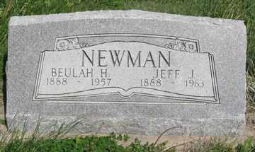 NEWMAN, BEULAH H. - Hitchcock County, Nebraska | BEULAH H. NEWMAN - Nebraska Gravestone Photos