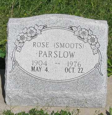 PARSLOW, ROSE - Hitchcock County, Nebraska | ROSE PARSLOW - Nebraska Gravestone Photos
