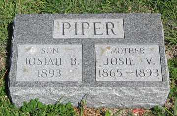 PIPER, JOSIAH B. - Hitchcock County, Nebraska | JOSIAH B. PIPER - Nebraska Gravestone Photos