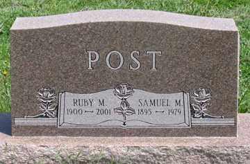 POST, SAMUEL M. - Hitchcock County, Nebraska | SAMUEL M. POST - Nebraska Gravestone Photos