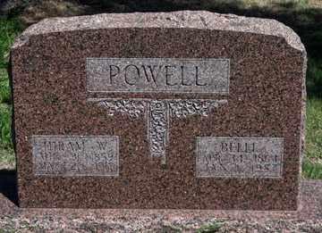 POWELL, BELLE - Hitchcock County, Nebraska | BELLE POWELL - Nebraska Gravestone Photos