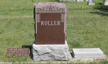 ROLLER, FRANK FAMILY GRAVE SITE - Hitchcock County, Nebraska | FRANK FAMILY GRAVE SITE ROLLER - Nebraska Gravestone Photos