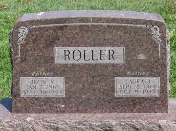 ROLLER, JOHN M. - Hitchcock County, Nebraska | JOHN M. ROLLER - Nebraska Gravestone Photos