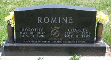 ROMINE, DOROTHY - Hitchcock County, Nebraska | DOROTHY ROMINE - Nebraska Gravestone Photos
