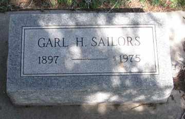SAILORS, GARL H. - Hitchcock County, Nebraska | GARL H. SAILORS - Nebraska Gravestone Photos