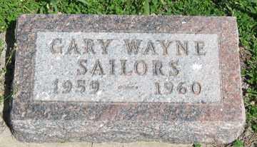 SAILORS, GARY WAYNE - Hitchcock County, Nebraska   GARY WAYNE SAILORS - Nebraska Gravestone Photos