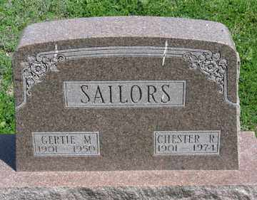 SAILORS, CHESTER R. - Hitchcock County, Nebraska | CHESTER R. SAILORS - Nebraska Gravestone Photos