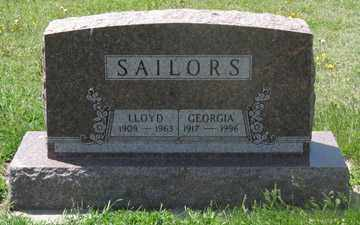 SAILORS, GEORGIA - Hitchcock County, Nebraska | GEORGIA SAILORS - Nebraska Gravestone Photos