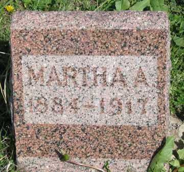 SAILORS, MARTHA A. - Hitchcock County, Nebraska   MARTHA A. SAILORS - Nebraska Gravestone Photos