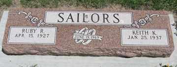 SAILORS, RUBY R. - Hitchcock County, Nebraska   RUBY R. SAILORS - Nebraska Gravestone Photos