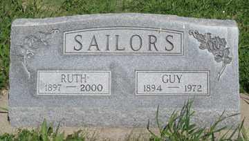 SAILORS, RUTH - Hitchcock County, Nebraska   RUTH SAILORS - Nebraska Gravestone Photos