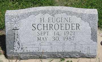 SCHROEDER, H. EUGENE - Hitchcock County, Nebraska   H. EUGENE SCHROEDER - Nebraska Gravestone Photos
