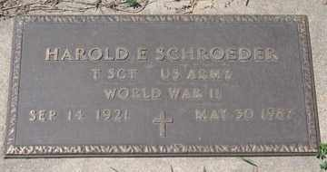 SCHROEDER, HAROLD E. - Hitchcock County, Nebraska   HAROLD E. SCHROEDER - Nebraska Gravestone Photos