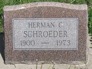 SCHROEDER, HERMAN C. - Hitchcock County, Nebraska | HERMAN C. SCHROEDER - Nebraska Gravestone Photos