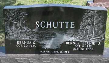 SCHUTTE, DEANNA S. - Hitchcock County, Nebraska | DEANNA S. SCHUTTE - Nebraska Gravestone Photos