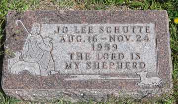 SCHUTTE, JO LEE - Hitchcock County, Nebraska   JO LEE SCHUTTE - Nebraska Gravestone Photos