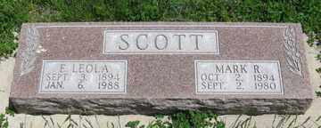 SCOTT, MARK R. - Hitchcock County, Nebraska | MARK R. SCOTT - Nebraska Gravestone Photos