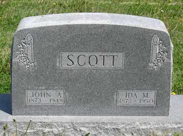 SCOTT, IDA M. - Hitchcock County, Nebraska | IDA M. SCOTT - Nebraska Gravestone Photos