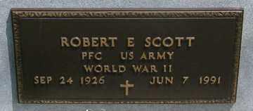 SCOTT, ROBERT E. - Hitchcock County, Nebraska   ROBERT E. SCOTT - Nebraska Gravestone Photos
