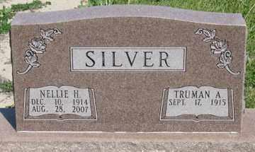 SILVER, NELLIE H. - Hitchcock County, Nebraska | NELLIE H. SILVER - Nebraska Gravestone Photos