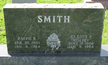 SMITH, GLADYS E. - Hitchcock County, Nebraska   GLADYS E. SMITH - Nebraska Gravestone Photos