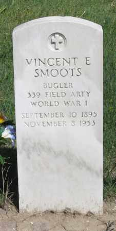 SMOOTS, VINCENT E. - Hitchcock County, Nebraska | VINCENT E. SMOOTS - Nebraska Gravestone Photos