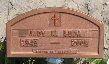 SUDA, JUDY K. - Hitchcock County, Nebraska | JUDY K. SUDA - Nebraska Gravestone Photos